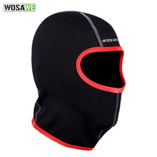 WOSAWE Winter Face Mask Warm Thermal Fleece Bike Head Cover Sport Hiking Camping Running Masks Bicycle Cycling Face Mask(China)