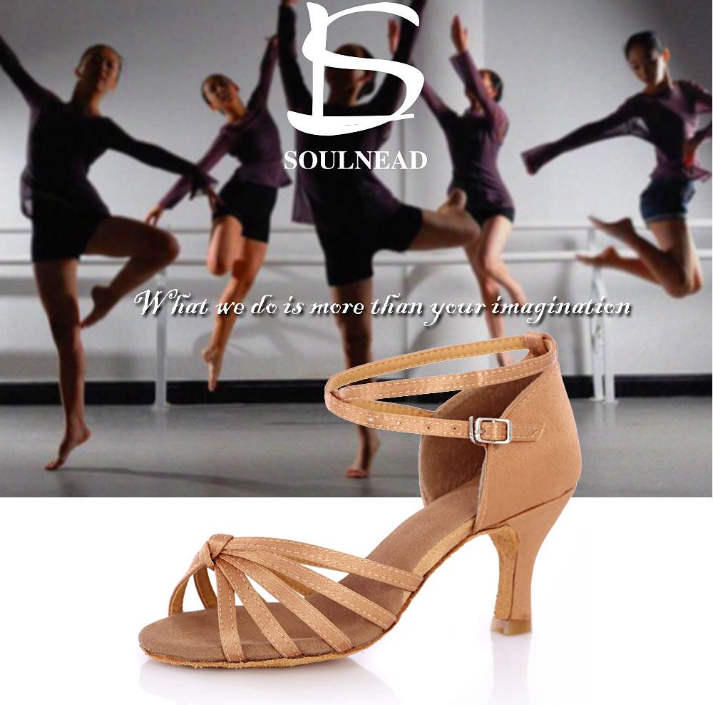 Latin Dance Shoes For Women Salsa Tango Ballroom Dance Shoes High Heels soft Dancing Shoes 5 7cm Heel zapatos baile comfortable (1)