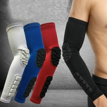 2 Pcs Aipbunny Sport Fitness Basketball Elbow Support Cycling No Slip Arm Sleeve Protector Gel Compression Quick Dry Elbow Pads