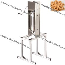 5L Stainless Steel Heavy Duty Hand Operated Spanish Doughnuts Machine Maker Filler Baker(China)