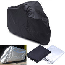 M/L/XL/XXL/XXXL Universal Motorcycle Cover Waterproof Outdoor UV Protector Rain Dustproof Covers For Scooter Motor Bike Covers