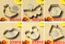 Aluminium Alloy Mold All kinds of  Shaped Cookie  Tools Cake Mold Jelly Pastry Baking Cutter Mould Tool