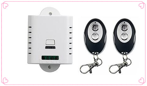 AC85V 110V 120V 220V 250V 1CH RF Wireless Remote Control Switch System 1*Receiver +2*ellipse shape Transmitters Learning code<br><br>Aliexpress