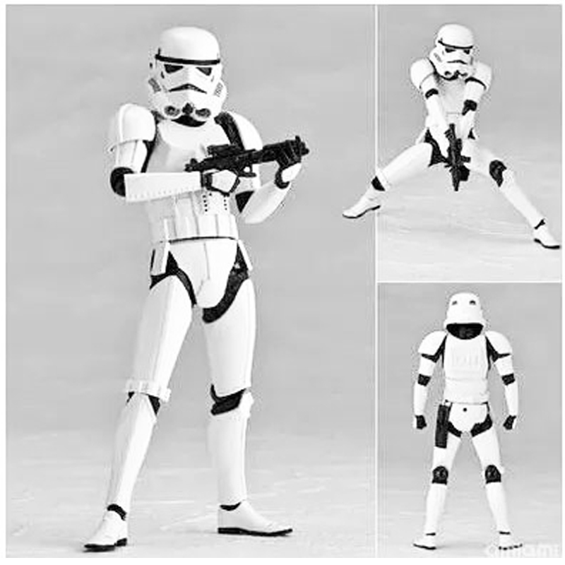 Star Wars The Force Awakens The White Series Stormtrooper Storm Trooper Action Figure Model Kids Christmas Gift<br><br>Aliexpress