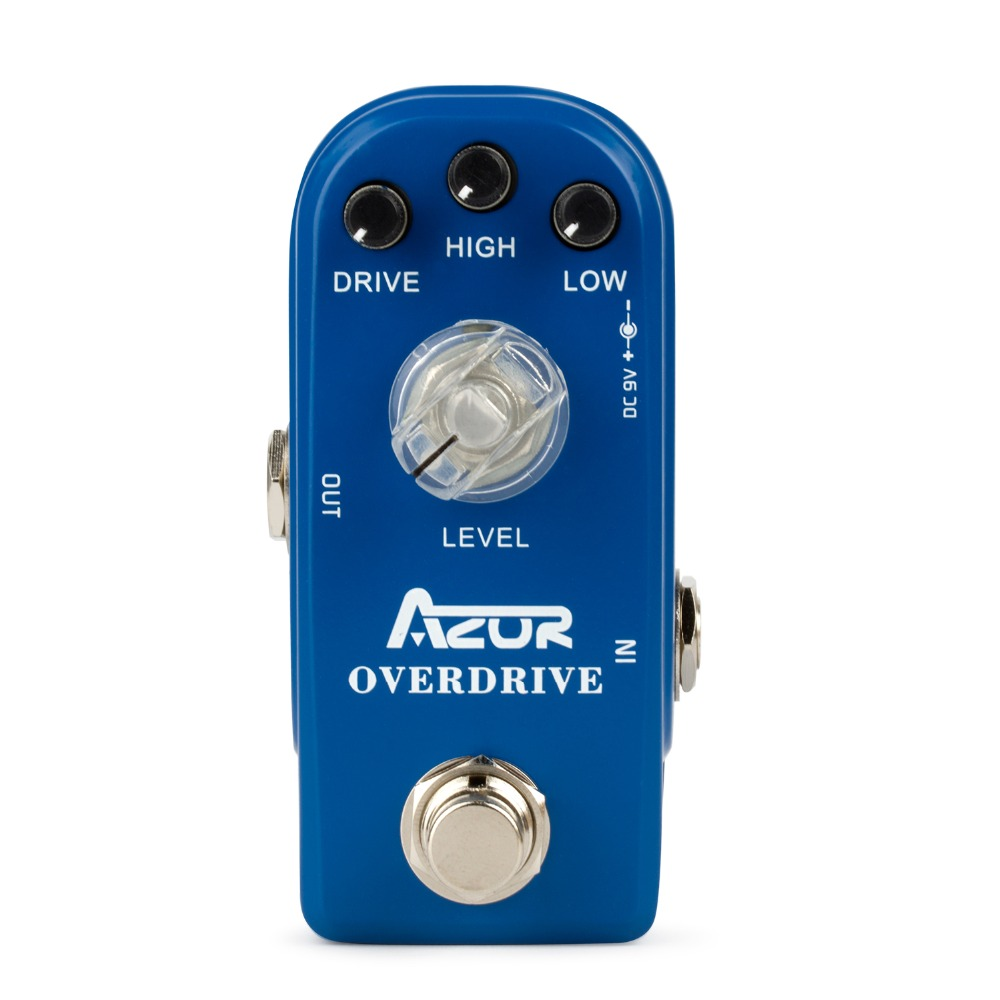 AP-308 Overdrive Mini Guitar Effect Pedal Blue with Ture Bypass<br>
