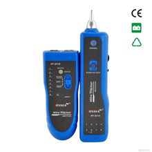 2016 Network RJ11 RJ45 lan wire tracker Fault locator and cable tester LAN Cable Tester NF-801B  (not include battery)
