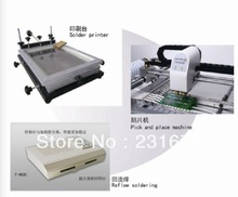 SMT Production line - pick and place machine, TM220A, reflow oven, T-962C, Stencil Printer(Medium), surface mounting