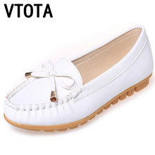 VTOTA Flat Shoes Women Autumn Slip On Shoes For Women Loafers Moccasin Womens Zapatos Mujer Ballet Flats Womens Shoes Woman 233(China)