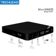 MiniM8s II Android 6.0 TV Box 2GB 8GB 16GB 2.4Ghz WIFI Media Player DLAN Internet Set Top Box 4K Full HD 1080P XMBC S905X 4 Core(China)
