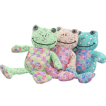 2017 New The Frog Prince Cute Frog Plush Toy Children Lovers Birthday Christmas Present Free Shipping 1pcs Animal Doll ZXZ