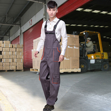 Export Europe Quality Men's Overalls Factory Warehouse Worker Work Wear Welding Stuff Clothing 4S Car Shop Uniform Coveralls
