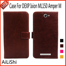AiLiShi Flip Leather Case For DEXP Ixion ML150 Amper M Case Fashion Protective Cover Phone Bag Wallet Accessory With Card Slot !
