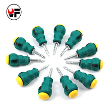 Mini Double-Head Anti-Slip Screwdriver Slotted Phillips Screwdriver Bit (Dismountable Radish head)Screwdriver Size 6*38mm DAJ009