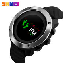 New Men's Smart Watches SKMEI Brand Top OLED Display Digital Watch Outdoor Compass Pedometer Calorie Waterproof Sports Watches(China)