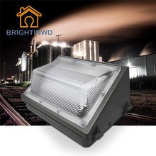 High Power 30W~100W AC 100-277V Industrial lighting IP65 Waterproof Outdoor Exterior LED Wall Pack Lamp Reflector Flood Light