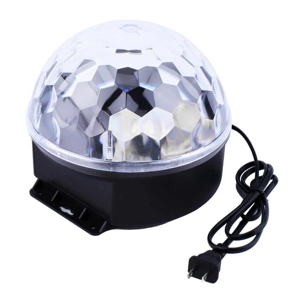 6 Colors LED Crystal Magic Ball Effect Light for Disco DJ Stage Party Brand New<br><br>Aliexpress