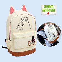 Anime Tonari no Totoro Cosplay Anime around the Korean version of canvas shoulder bag female boy birthday gift