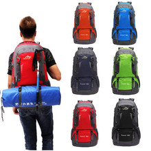 Buy 60L Outdoor Hiking Bag Camping Travel Waterproof Mountaineering Backpack Outdoor Cycling Bicycle Accessories Top Jane 12 for $35.54 in AliExpress store
