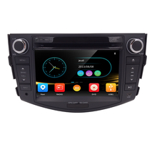 Crazy Sale Free 8G Map 2 Din Car GPS Navigation Car Stereo for Toyota RAV4 2006-2012 Bluetooth MIC SWC USB SD ATV Touch Screen