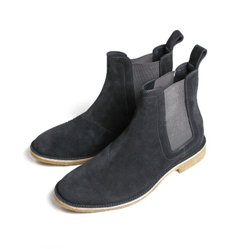 2017 New Arrival Brand Men Boots Luxury Vintage Genuine Leather Chelsea Kanye West Boot Shoes Mens Party Dress Shoes West shoes<br><br>Aliexpress