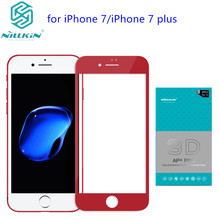 Nillkin AP+Pro 0.23mm Anti-Explosion 9H 3D Full Cover Tempered Glass For iPhone 7 Screen Protector for iPhone 7 Plus Glass film(China)