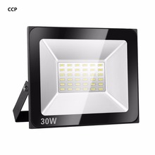 SOLLA LED Flood Light 15W 30W 60W 100W 150W 200W 300W 400W Spotlight 220V 110V Reflector Waterproof Outdoor Garden Projectors(China)
