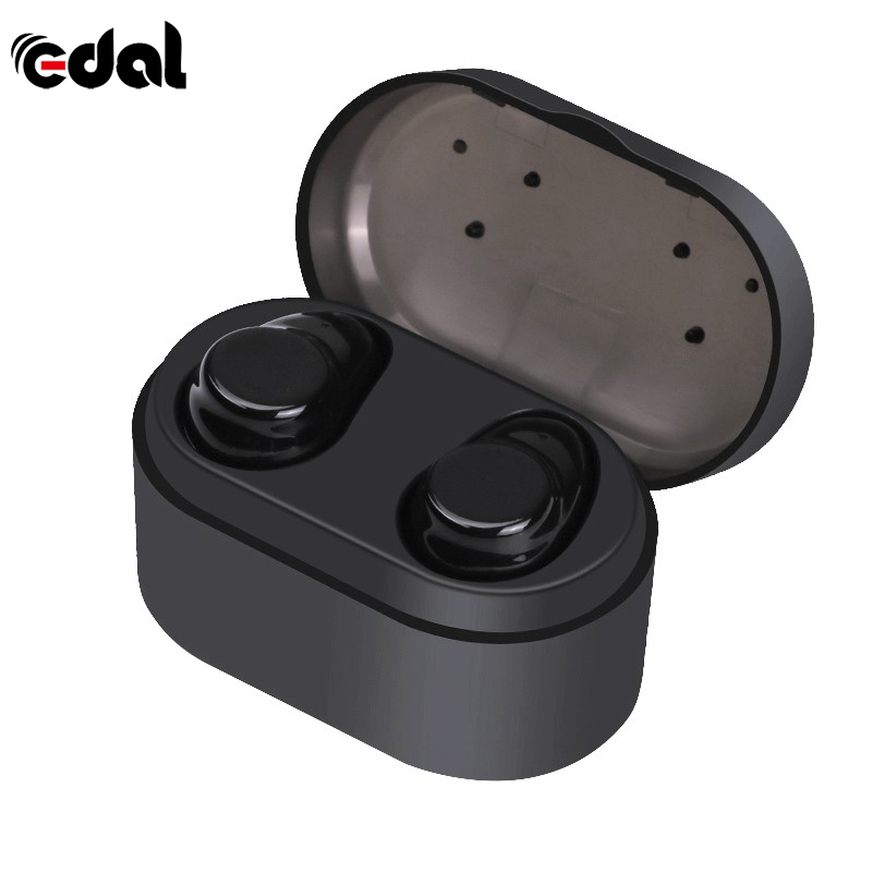 EDAL Business bluetooth earphones wireless 3D stereo headset and power bank for iphone android samsung<br>