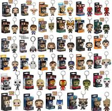 Buy 34 models popo Funko Spider Men Figure Doll Key Chain Theme Action Figure Collectible Model Walking Dead Nick Keyring Box for $5.07 in AliExpress store