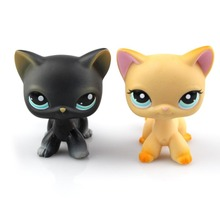 LPS New Style lps Toy Little Pet Shop Mini cute Littlest Animal Cat patrulla canina dog Action Figures Kids toys(China)
