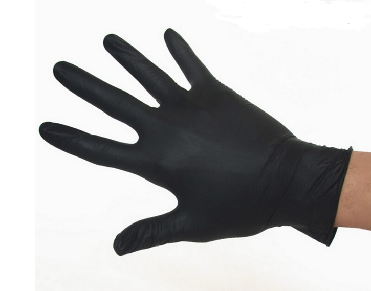 The disposable black nitrile gloves 100 pieces/industrial production Mechanical Maintenance working gloves<br><br>Aliexpress