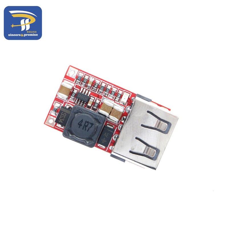 DC 6-24V 12V/24v to 5V Mini DC-DC USB Output charger Step Up Boost Module Power Adjustable buck Converter