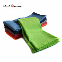 DHL Wrist Sweat Band Microfiber Suede Solid Color Gym Towels with custom logo