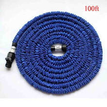 [Factory sales]Aluminum Head Garden Hose 100ft Hose For Watering 100ft Expandable Garden Hose With EU or US Connector(China)