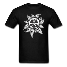 Best Men Sun Eating Ghosts T-shirt Inexpensive T  Greek Customised t-shirt Cotton Clothing For Teenage