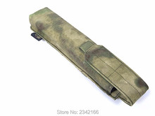 Hot Saling FLYYE genuine MOLLE Single P90 / UMP Magazine Pouch Military camping hiking modular CORDURA FY-PH-M021
