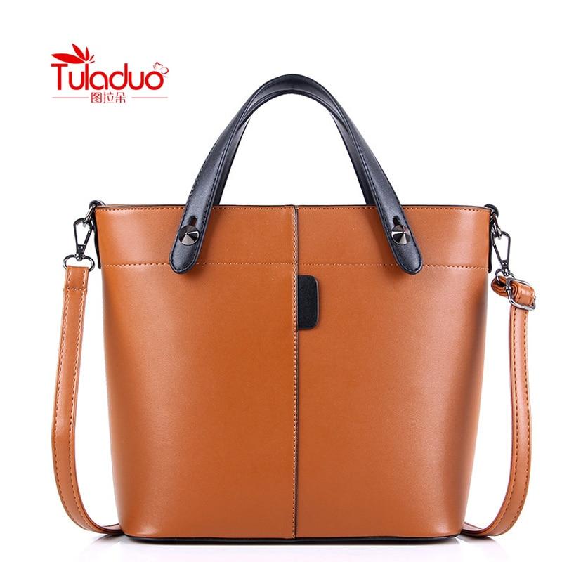 2017 Famous Brand Women Bag Fashion Simple Large Capacity Pu Leather Handbags Female Vintage Design Luxury Shoulder Bag <br><br>Aliexpress