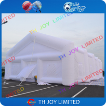 Free shipping,10mx6m white inflatable tent, inflatable wedding tent,giant inflatable marquee tent,inflatable tent price(China)