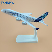 Air Airbus 380 A380 Airlines ProtoMech Plane Model 16cm Alloy Metal Prototype Development Aircraft  Airplane Model  Gift