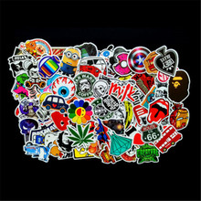 100 Pcs Sticker Bomb Decal Vinyl Roll for Car Skate Skateboard Laptop Luggage