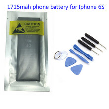 Original Genuine OEM for iPhone 6s Replacement Battery 1715 mAh + Free Tools Kit(1 pc)(China)