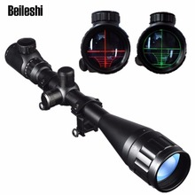 Beileshi Red Dot Sight Adjustable Riflescope 6-24X50 AOEG Reticle Riflescopes HD Optical Lens Hunting Scope Sight(China)