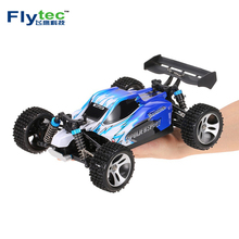 High speed racer car Flytec A959 1:18 scale 2.4G 4wd rtr off road buggy rc car with metal shaft Electronic Toy For Kids Gift(China)