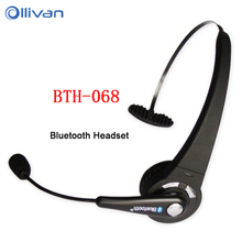 Multipoint Headband BTH-068 Wireless Bluetooth Headset with Microphone Long Standby Time Earphone for PC PS3 Gaming Smart Phones(China)