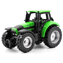 siku 1:64 kids toys Alloy modelmetallic material tractor Engineering vehicles excavator Cockpit Can be active like Decoration(China)