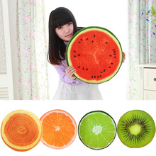 3D Vivid Plush Foam Fruit Pillow Back Cushion Office Chair Sofa Bed Decor #81064