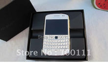 White blackberry 9900,unlocked 3g phone,QWERTY phones +touch screen 2.8inch,WiFi,GPS,5.0MP camera ,free shinpping