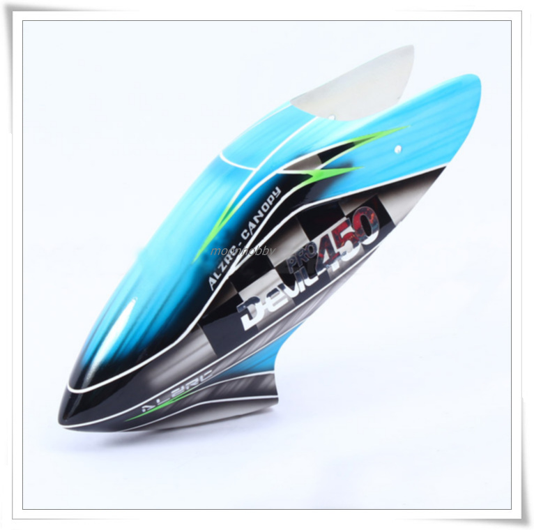 ALZRC 450 Pro Canopy V2 ACP45P2H High Grade Fiberglass Canopy ALZRC 450 Parts Free Shipping with Tracking<br>