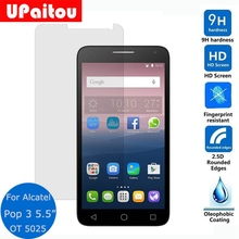 "UPaitou Safety Protective Film For Alcatel One Touch Pop 3 5.5 ""inch 5025D Tempered Glass Screen Protector on 5054 A/D/T 5035n(China)"