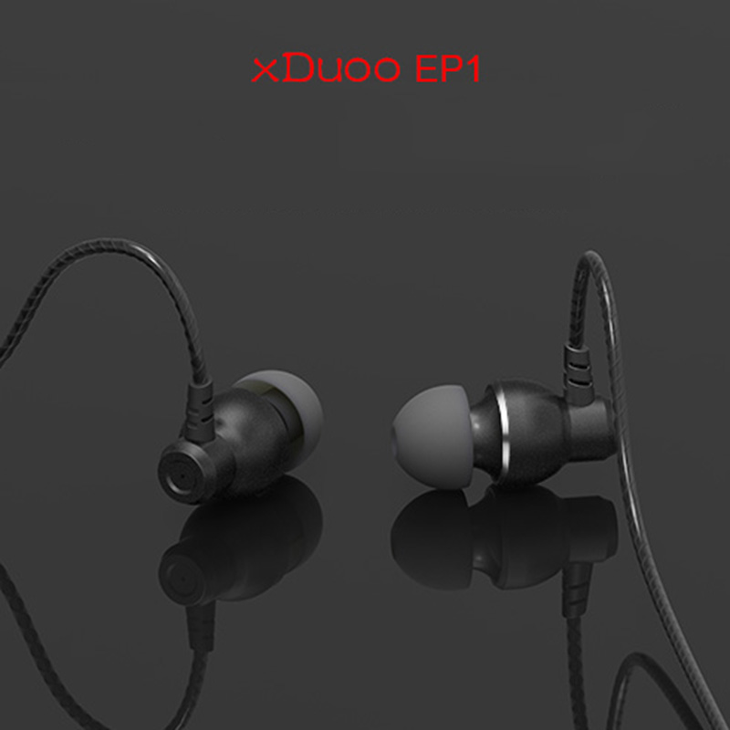 High Quality xDuoo EP1 Dynamic Stereo Earphone HI-FI Sports Handsfree In Ear Headphones For HI-FI Music Player MP3 Cellphone PC<br>