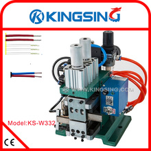 Pneumatic Wire Stripping Twisting Machine KS-W332 + Free Shipping by DHL air express (door to door service)